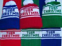ubachristmas hats and scarves